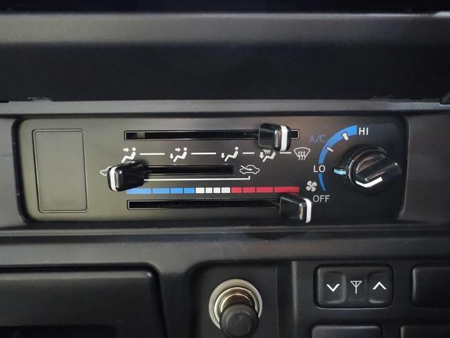 使いやすいマニュアル式ダイアル式エアコン!