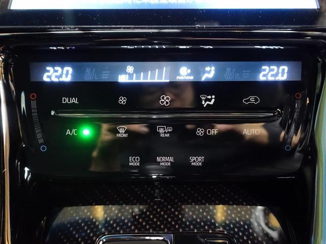 プレミアム 禁煙車 トヨタセーフティセンス 10型BIG-X バックカメラ LEDヘッドライト シーケンシャルウィンカー レーダークルーズ クリアランスソナー 電動リア ハーフレザー 純正18インチAW ETC(34枚目)
