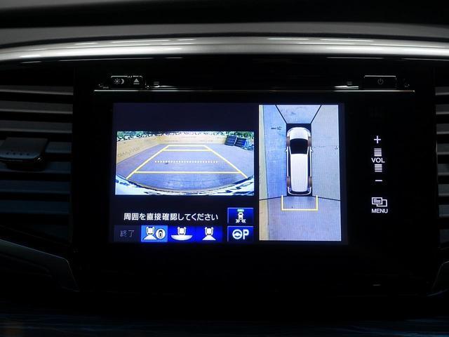 ハイブリッドアブソルート・ホンダセンシングEXパック 禁煙車 インターナビ 後席モニター 両側電動ドア ホンダセンシング 全周囲カメラ レーダークルーズ ハーフレザー パワーシート クリアランスソナー LEDヘッド 純正17アルミ ETC(5枚目)