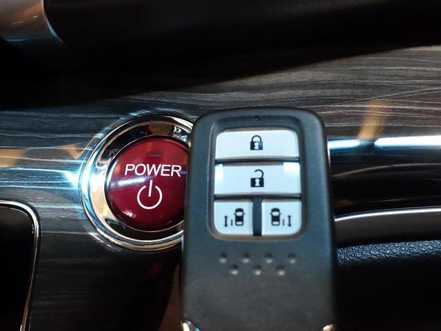 ハイブリッドアブソルート・ホンダセンシングEXパック 禁煙車 インターナビ 後席モニター 両側電動ドア ホンダセンシング 全周囲カメラ レーダークルーズ ハーフレザー パワーシート クリアランスソナー LEDヘッド 純正17アルミ ETC(8枚目)
