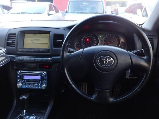 トヨタ マークIIブリット 2.0iR Fourタイベル交換済4WDETCキーレスHID