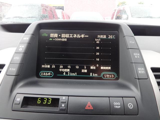 トヨタ プリウス G BカメラETCスマートキークルコンCDMD