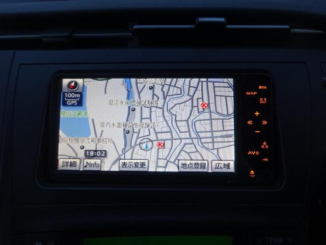 トヨタ プリウス S HDDナビBカメラワンセグETCスマートキーDVD再生