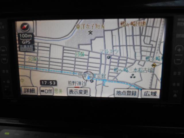 トヨタ ウィッシュ X Sパッケージ AW HDDナビETC Tチェーン