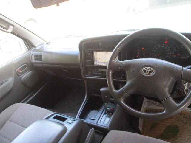 トヨタ ハイエースワゴン スーパーカスタムG Tチェーン CD サンルーフ ABS
