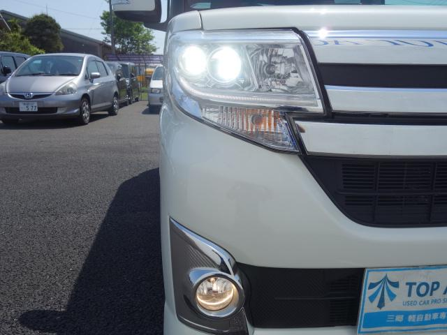 ダイハツ タント カスタムX SA パワースライド LEDライト ETC