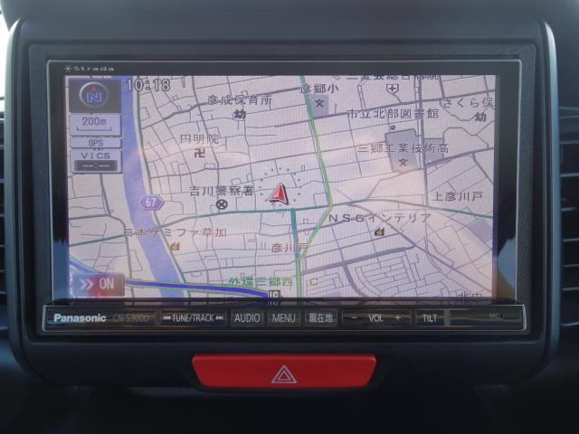 ホンダ N BOXカスタム G 両側スライド ナビ フルセグ CD録音 Bカメラ ETC