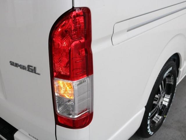 スーパーGL ダークプライムII ロングボディ FLEXカスタム FLEXオリジナルボンネット ディーゼルターボ4WD(16枚目)