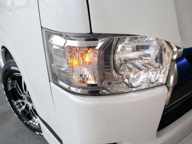 スーパーGL ダークプライムII ロングボディ FLEXカスタム FLEXオリジナルボンネット ディーゼルターボ4WD(17枚目)