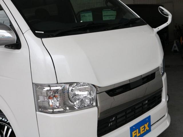 スーパーGL ダークプライムII ロングボディ FLEXカスタム FLEXオリジナルボンネット ディーゼルターボ4WD(18枚目)