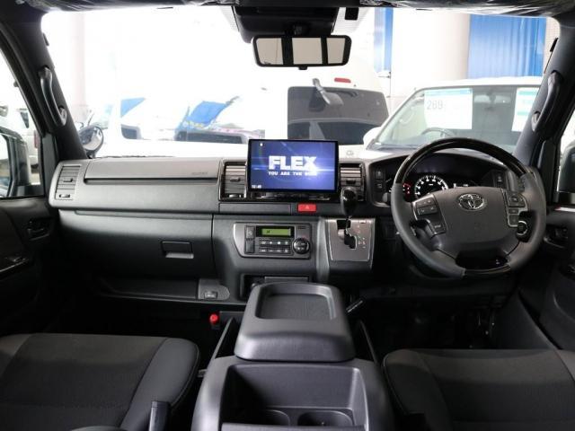 スーパーGL ダークプライムII ディーゼルターボ2WD トヨタセーフティーセンス パノラミックビューモニター FLEXカスタム(2枚目)