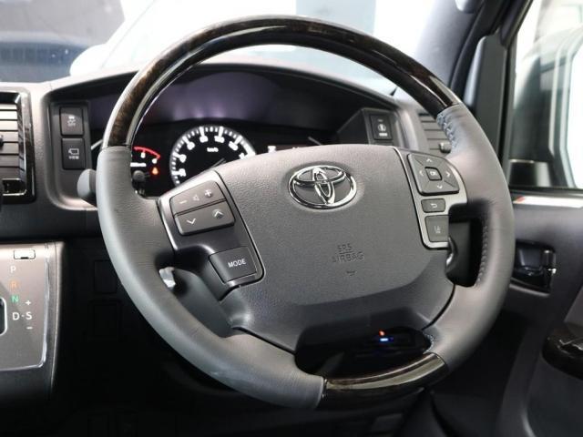 スーパーGL ダークプライムII ディーゼルターボ2WD トヨタセーフティーセンス パノラミックビューモニター FLEXカスタム(8枚目)