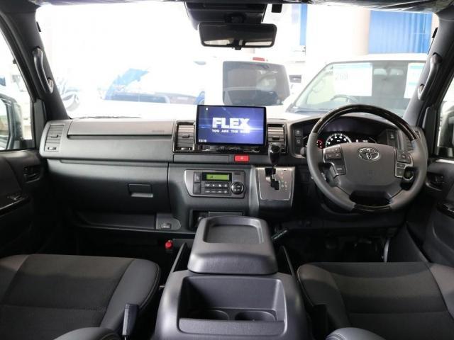 スーパーGL ダークプライムII ディーゼルターボ2WD FLEXカスタム 両側オートスライドドア パノラミックビューモニター ブルーレイ再生パナソニック10インチナビ(2枚目)