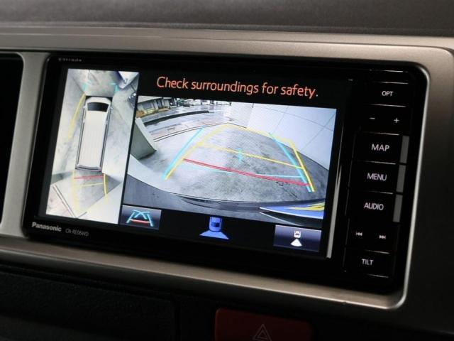 GL バージョン1内装架装 ベッドキット フローリング テーブル ナビ フリップダウンモニター FLEXカスタム ETC2.0 ローダウン アルミホイール 4WD 寒冷地 コーナーセンサー(3枚目)