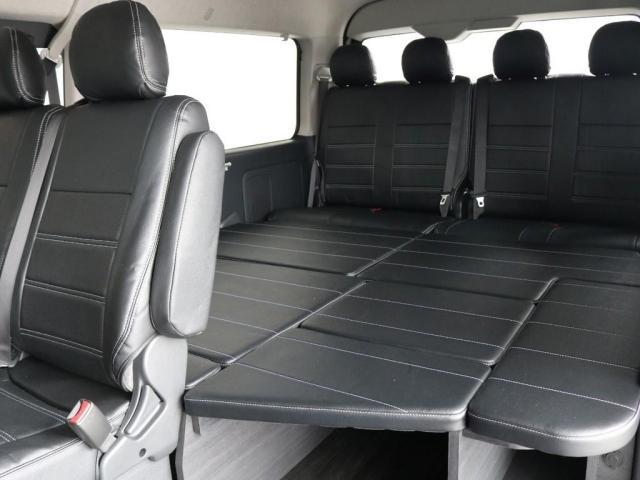 GL バージョン1内装架装 ベッドキット フローリング テーブル ナビ フリップダウンモニター FLEXカスタム ETC2.0 ローダウン アルミホイール 4WD 寒冷地 コーナーセンサー(10枚目)