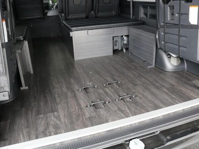 GL バージョン1内装架装 ベッドキット フローリング テーブル ナビ フリップダウンモニター FLEXカスタム ETC2.0 ローダウン アルミホイール 4WD 寒冷地 コーナーセンサー(13枚目)