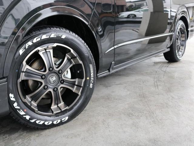 GL バージョン1内装架装 ベッドキット フローリング テーブル ナビ フリップダウンモニター FLEXカスタム ETC2.0 ローダウン アルミホイール 4WD 寒冷地 コーナーセンサー(14枚目)