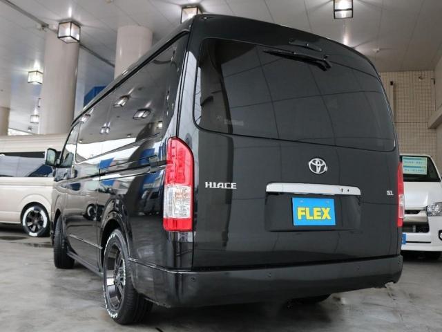 GL バージョン1内装架装 ベッドキット フローリング テーブル ナビ フリップダウンモニター FLEXカスタム ETC2.0 ローダウン アルミホイール 4WD 寒冷地 コーナーセンサー(16枚目)