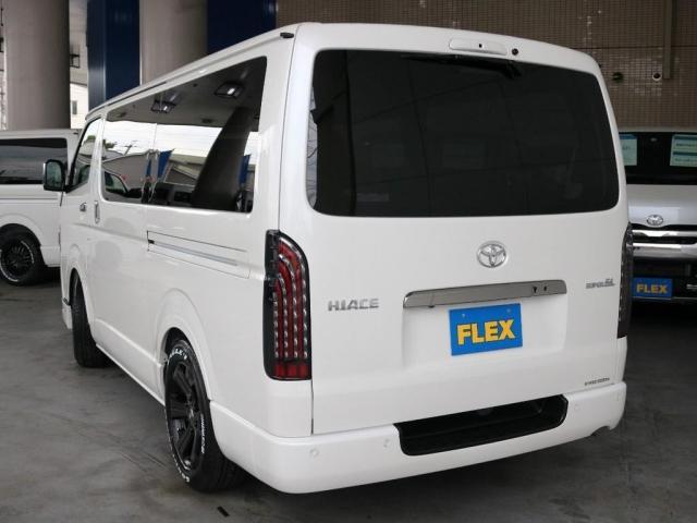 スーパーGL ダークプライムII ガソリン2WD FLEXカスタム 両側オートスライドドア パノラミックビューモニター デジタルインナーミラー クリアランスソナー ローダウン アルミホイール(15枚目)