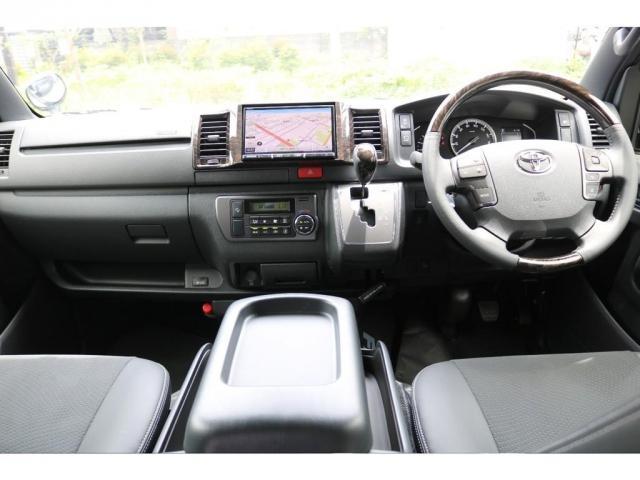 スーパーGL ダークプライムII ロングボディ FLEXカスタム ディーゼルターボ4WD寒冷地仕様 ナビ 後席フリップダウンモニター ベッドキット パノラミックビューモニター(2枚目)