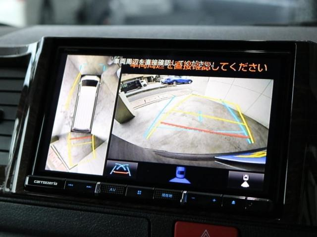 スーパーGL ダークプライムII ロングボディ FLEXカスタム ディーゼルターボ4WD寒冷地仕様 ナビ 後席フリップダウンモニター ベッドキット パノラミックビューモニター(4枚目)