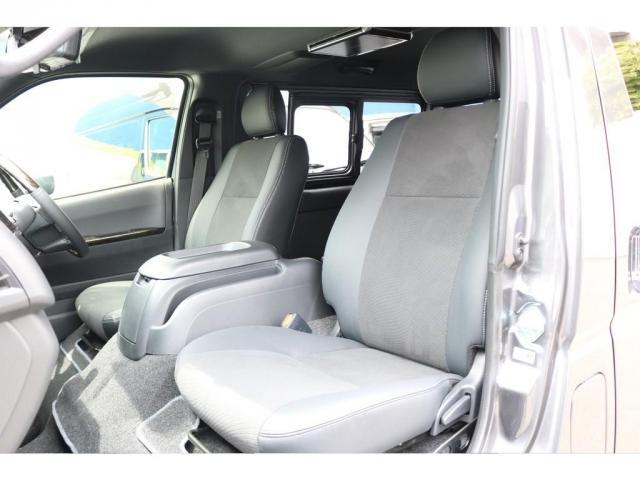 スーパーGL ダークプライムII ロングボディ FLEXカスタム ディーゼルターボ4WD寒冷地仕様 ナビ 後席フリップダウンモニター ベッドキット パノラミックビューモニター(8枚目)