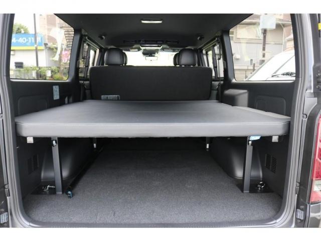 スーパーGL ダークプライムII ロングボディ FLEXカスタム ディーゼルターボ4WD寒冷地仕様 ナビ 後席フリップダウンモニター ベッドキット パノラミックビューモニター(10枚目)