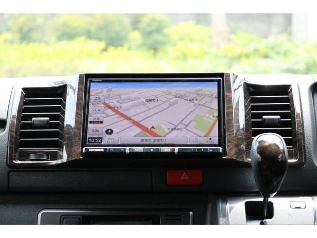 スーパーGL ダークプライムII ロングボディ FLEXカスタム ディーゼルターボ4WD寒冷地仕様 ナビ 後席フリップダウンモニター ベッドキット パノラミックビューモニター(14枚目)