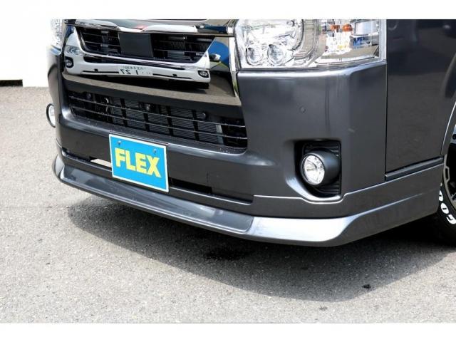 スーパーGL ダークプライムII ロングボディ FLEXカスタム ディーゼルターボ4WD寒冷地仕様 ナビ 後席フリップダウンモニター ベッドキット パノラミックビューモニター(15枚目)
