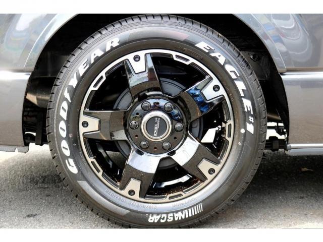 スーパーGL ダークプライムII ロングボディ FLEXカスタム ディーゼルターボ4WD寒冷地仕様 ナビ 後席フリップダウンモニター ベッドキット パノラミックビューモニター(17枚目)