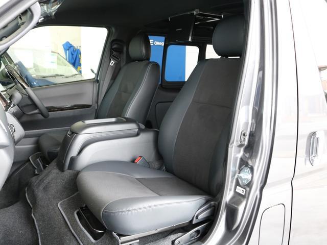 スーパーGL ダークプライムII ロングボディ FLEXカスタム ディーゼルターボ4WD寒冷地仕様 ナビ 後席フリップダウンモニター ベッドキット パノラミックビューモニター(21枚目)