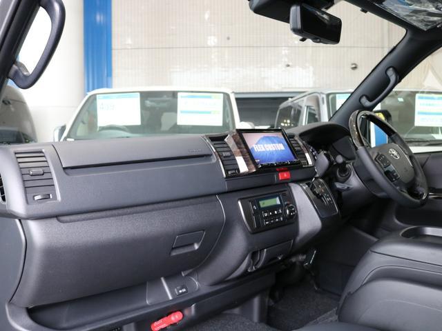 スーパーGL ダークプライムII ロングボディ FLEXカスタム ディーゼルターボ4WD寒冷地仕様 ナビ 後席フリップダウンモニター ベッドキット パノラミックビューモニター(23枚目)