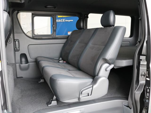 スーパーGL ダークプライムII ロングボディ FLEXカスタム ディーゼルターボ4WD寒冷地仕様 ナビ 後席フリップダウンモニター ベッドキット パノラミックビューモニター(28枚目)