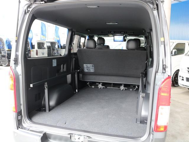 スーパーGL ダークプライムII ロングボディ FLEXカスタム ディーゼルターボ4WD寒冷地仕様 ナビ 後席フリップダウンモニター ベッドキット パノラミックビューモニター(32枚目)