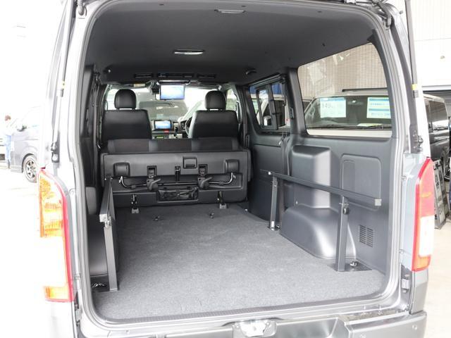 スーパーGL ダークプライムII ロングボディ FLEXカスタム ディーゼルターボ4WD寒冷地仕様 ナビ 後席フリップダウンモニター ベッドキット パノラミックビューモニター(34枚目)