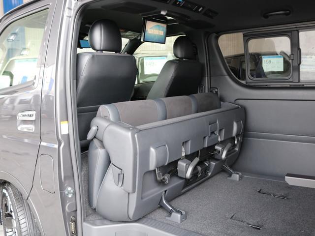 スーパーGL ダークプライムII ロングボディ FLEXカスタム ディーゼルターボ4WD寒冷地仕様 ナビ 後席フリップダウンモニター ベッドキット パノラミックビューモニター(35枚目)