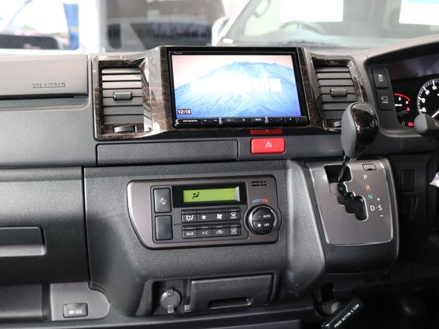 スーパーGL ダークプライムII ロングボディ FLEXカスタム ディーゼルターボ4WD寒冷地仕様 ナビ 後席フリップダウンモニター ベッドキット パノラミックビューモニター(39枚目)