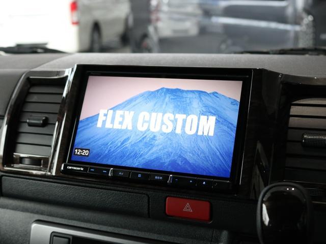 スーパーGL ダークプライムII ロングボディ FLEXカスタム ディーゼルターボ4WD寒冷地仕様 ナビ 後席フリップダウンモニター ベッドキット パノラミックビューモニター(40枚目)
