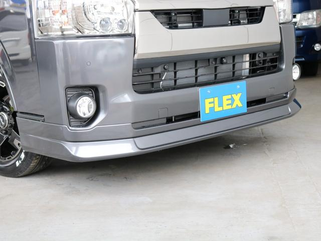 スーパーGL ダークプライムII ロングボディ FLEXカスタム ディーゼルターボ4WD寒冷地仕様 ナビ 後席フリップダウンモニター ベッドキット パノラミックビューモニター(62枚目)