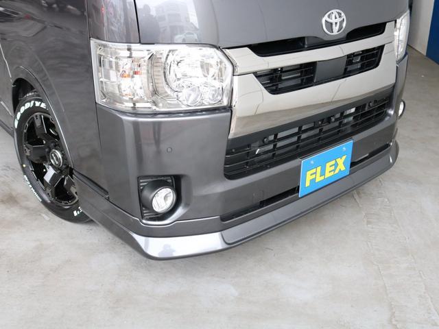 スーパーGL ダークプライムII ロングボディ FLEXカスタム ディーゼルターボ4WD寒冷地仕様 ナビ 後席フリップダウンモニター ベッドキット パノラミックビューモニター(64枚目)