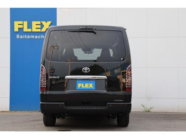 ロングDX GLパッケージ FLEXカスタム ローダウン アルミホイール オーバーフェンダー パナソニックナビ ETC FLEXLEDテールランプ(13枚目)