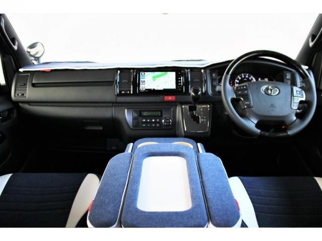 スーパーGL ダークプライムII ロングボディ クラフトプラスパッケージ デニム内装 ナビ 後席フリップダウンモニター デニムベッドキット TRDフロントスポイラー 4WD 寒冷地仕様(2枚目)