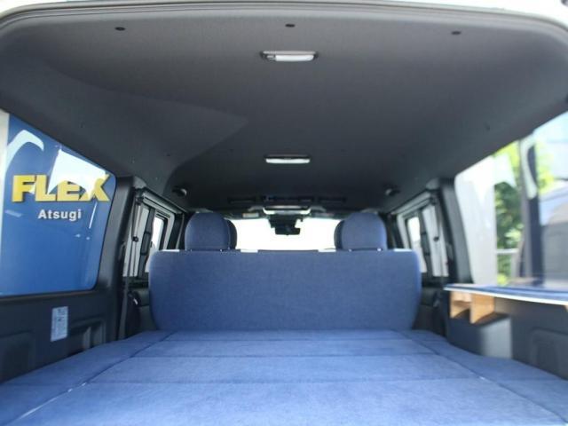 スーパーGL ダークプライムII ロングボディ クラフトプラスパッケージ デニム内装 ナビ 後席フリップダウンモニター デニムベッドキット TRDフロントスポイラー 4WD 寒冷地仕様(3枚目)