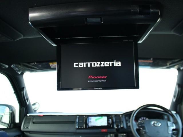 スーパーGL ダークプライムII ロングボディ クラフトプラスパッケージ デニム内装 ナビ 後席フリップダウンモニター デニムベッドキット TRDフロントスポイラー 4WD 寒冷地仕様(4枚目)