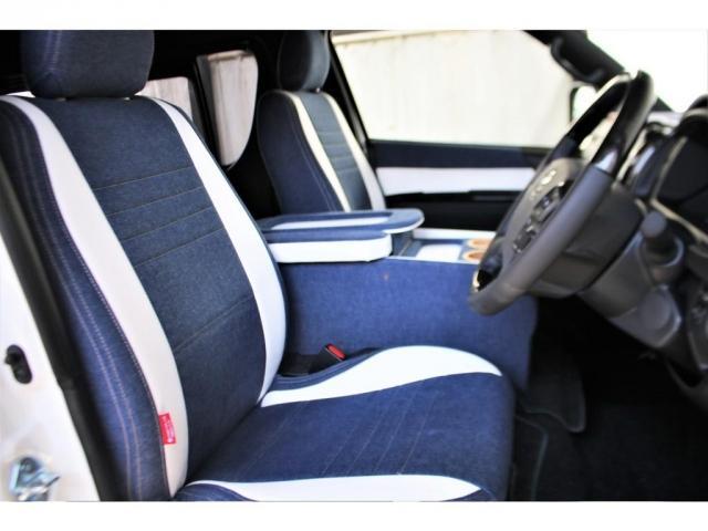 スーパーGL ダークプライムII ロングボディ クラフトプラスパッケージ デニム内装 ナビ 後席フリップダウンモニター デニムベッドキット TRDフロントスポイラー 4WD 寒冷地仕様(6枚目)