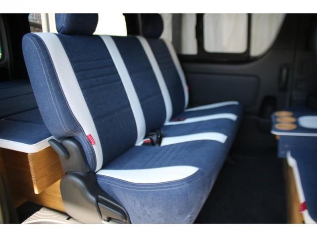 スーパーGL ダークプライムII ロングボディ クラフトプラスパッケージ デニム内装 ナビ 後席フリップダウンモニター デニムベッドキット TRDフロントスポイラー 4WD 寒冷地仕様(7枚目)