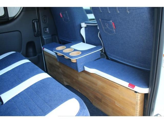 スーパーGL ダークプライムII ロングボディ クラフトプラスパッケージ デニム内装 ナビ 後席フリップダウンモニター デニムベッドキット TRDフロントスポイラー 4WD 寒冷地仕様(8枚目)