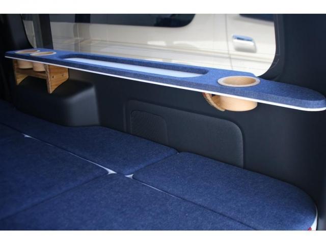スーパーGL ダークプライムII ロングボディ クラフトプラスパッケージ デニム内装 ナビ 後席フリップダウンモニター デニムベッドキット TRDフロントスポイラー 4WD 寒冷地仕様(11枚目)