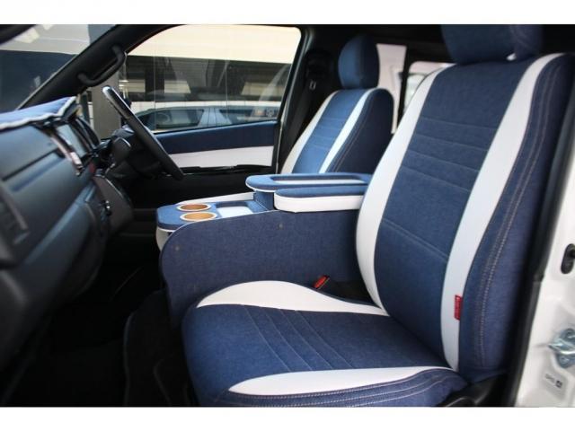 スーパーGL ダークプライムII ロングボディ クラフトプラスパッケージ デニム内装 ナビ 後席フリップダウンモニター デニムベッドキット TRDフロントスポイラー 4WD 寒冷地仕様(12枚目)