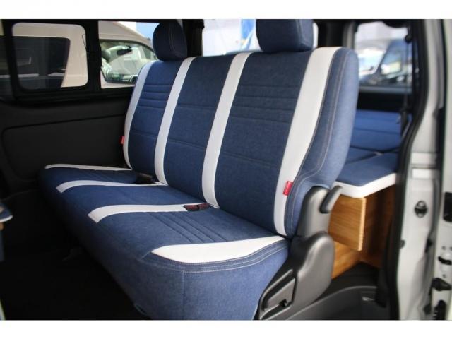 スーパーGL ダークプライムII ロングボディ クラフトプラスパッケージ デニム内装 ナビ 後席フリップダウンモニター デニムベッドキット TRDフロントスポイラー 4WD 寒冷地仕様(13枚目)